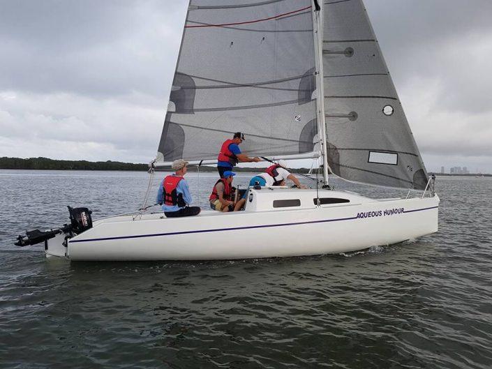 sheer racing sail
