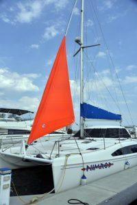 Bad weather sail