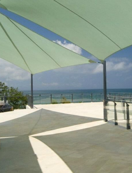 seaside shade sails