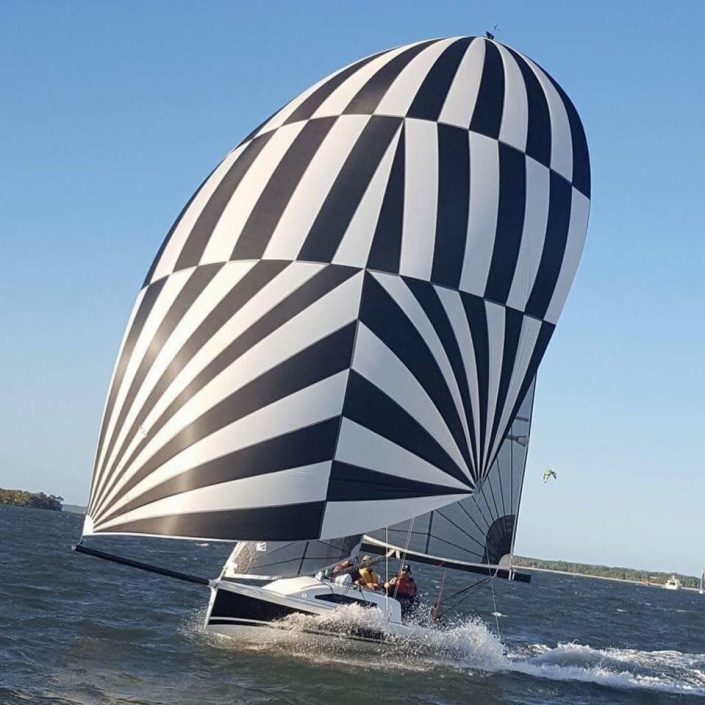 custom racing sail