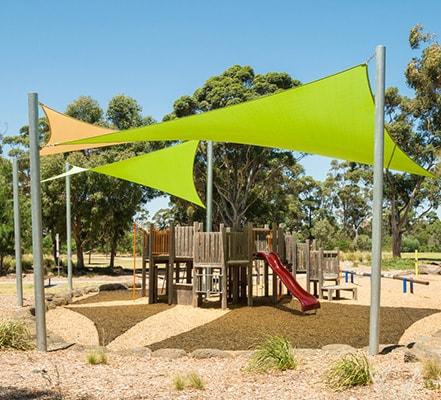 shade sail park